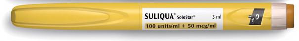 Соликва 100 ед./мл+50 мкг/мл раствор катридж №3