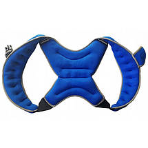 Утяжелитель-жилет Sport Shiny 10 кг SS6057-10-N Blue, фото 2