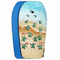 Бодиборд-доска для плавания на волнах SportVida Bodyboard SV-BD0001-4