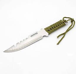 Нож в чехле  (с зазубринами)
