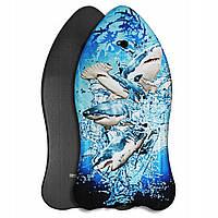 Бодиборд-доска для плавания на волнах SportVida Bodyboard SV-BD0002-4