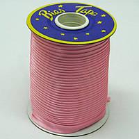 Косая бейка Super 3118 атласная 1.5 см х 100 м Розовая Bios-3118, КОД: 1314926