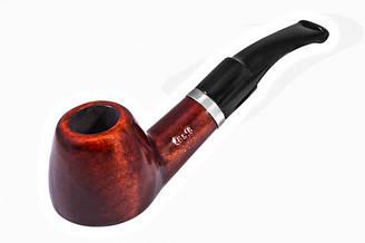 Курительная трубка BB 2 x 3 см Черная с коричневым BB036, КОД: 955701