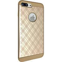 Чехол-накладка DK-Case Ромб для Apple iPhone 7   8 Plus Золотой 04455, КОД: 1694672