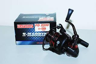 Катушка BratFishing Z-Machine FD 2000 5+1