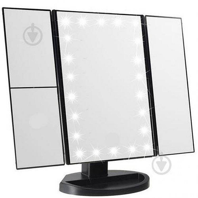 Дзеркало для макіяжу з Led підсвічуванням Superstar Magnifying Mirror