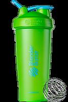 Спортивный шейкер BlenderBottle Classic Loop 820 ml Special Edition Vera Green Blue, КОД: 977600