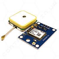 GPS-приемник GY-GPS6MV2 чип Ublox NEO-6M с активной антенной