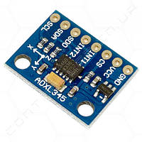 Акселерометр трехосевой GY291 чип ADXL345