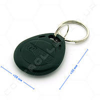 Брелок RFID TK4100 125 КГц темно зеленый