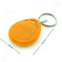 Брелок RFID TK4100 125 КГц темно оранжевый