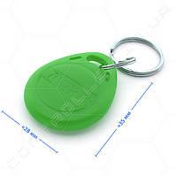 Брелок RFID TK4100 125 КГц темно салатовый