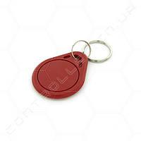 Брелок RFID/NFC Mifare Mf1 S50 13.56 MHz красный