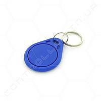 Брелок RFID/NFC Mifare Mf1 S50 синий 13.56 MHz