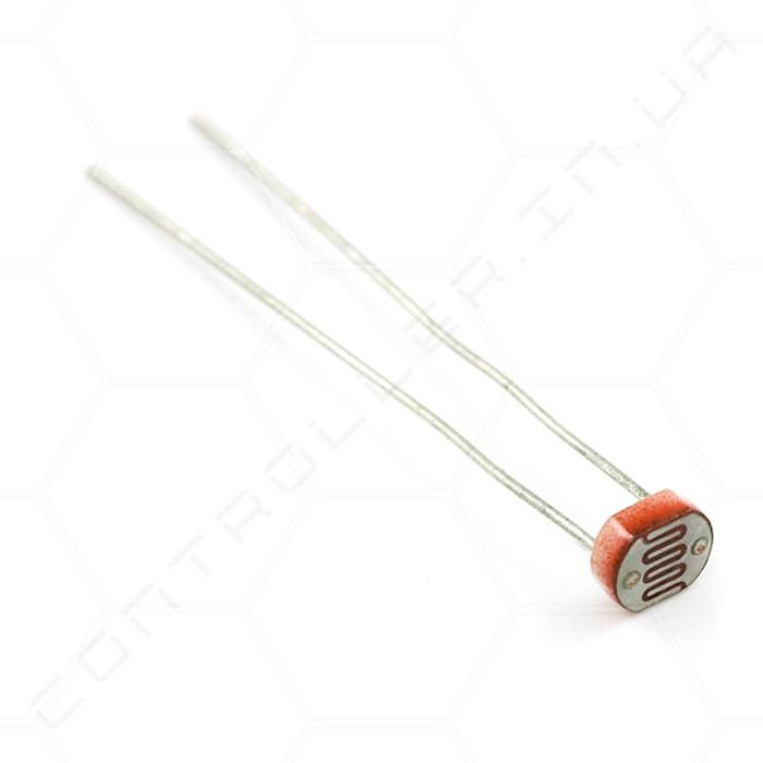 Датчик света, фоторезистор GL5528