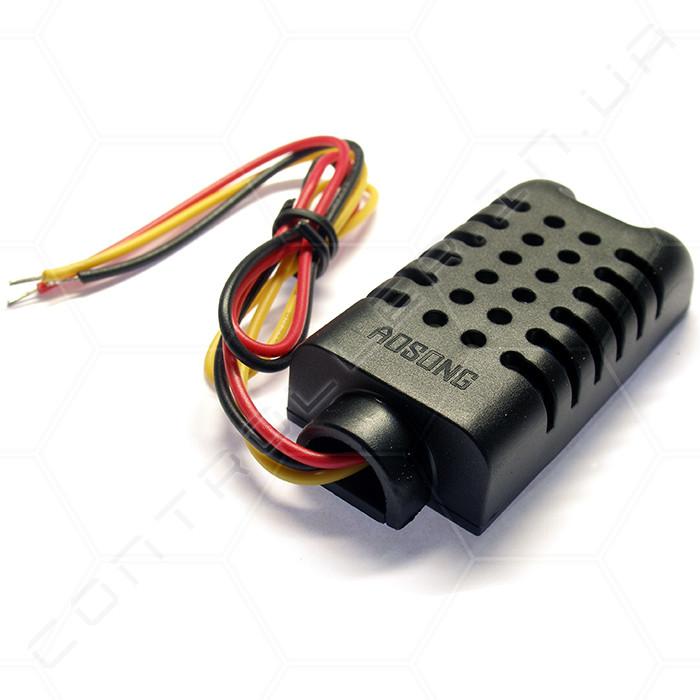 Датчик температуры и влажности DHT21 / AM2301A ADSONG Модуль с креплением