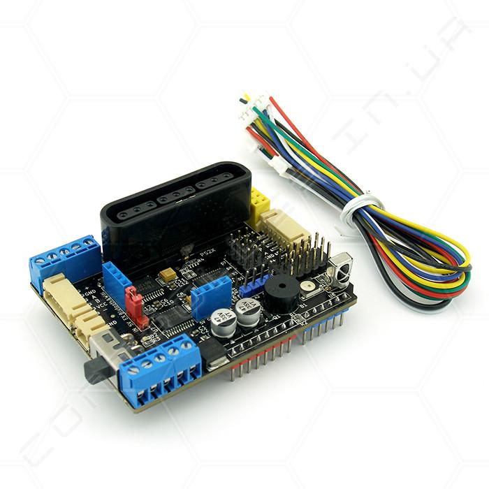 Драйвер шагового двигателя TB6612FNG V3.0  PSX2 NRF24L01 + ИК IIC