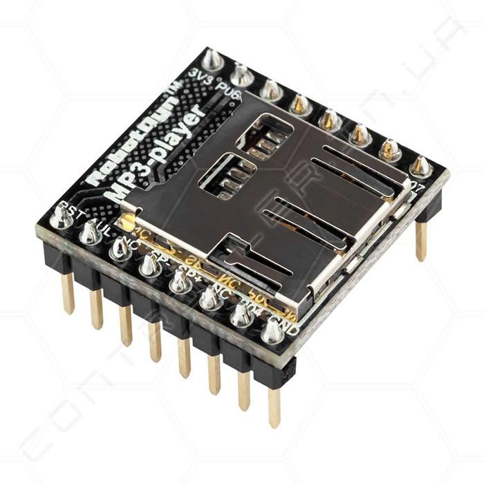 Звуковой модуль WTV020SD RobotDyn