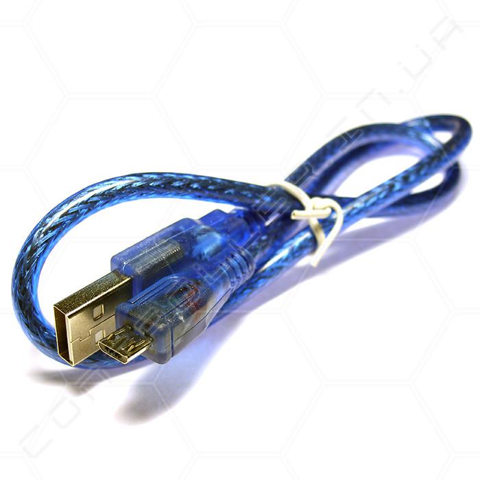 Кабель USB type A - micro USB (53 см)