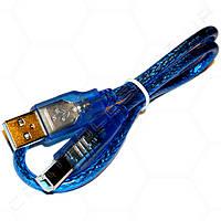 Кабель USB type A, USB type B 53см