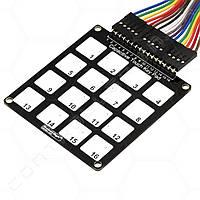 Клавиатура сенсорная емкостная RobotDyn 16 клавиш