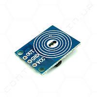 Кнопка сенсорная емкостная со светодиодом