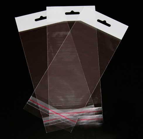 Пакет для упаковки прозрачный с отверстием,  15*20+4\25мк, 1000шт\пач
