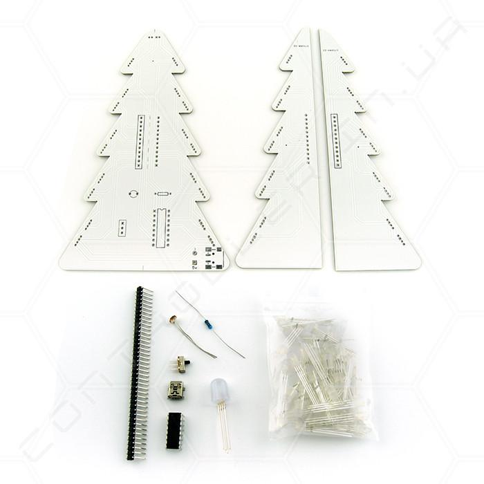 Конструктор рождественская елка RGB