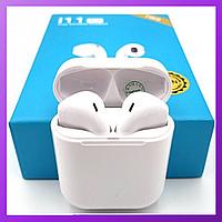 Беспроводная гарнитура i11-tws 5.0 с микрофоном, беспроводные наушники Bluetooth