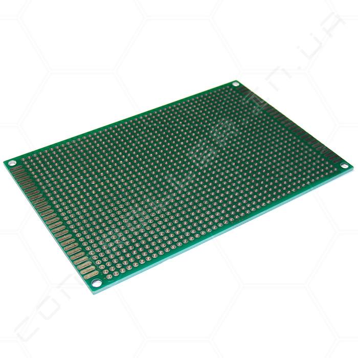 Макетная плата FR-4 80х120мм