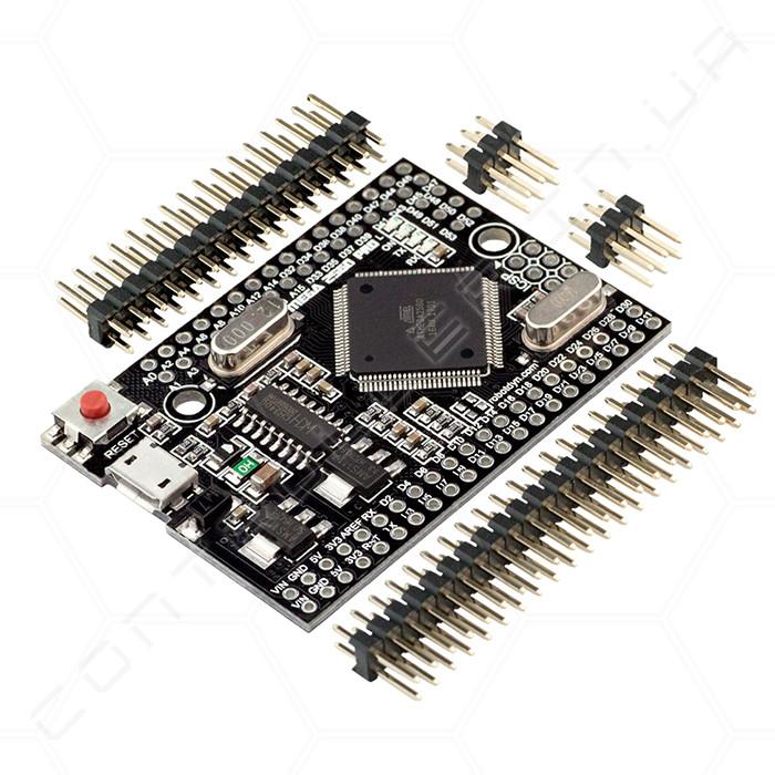 Мікроконтролер Arduino Mega 2560 PRO MINI з UART RobotDyn