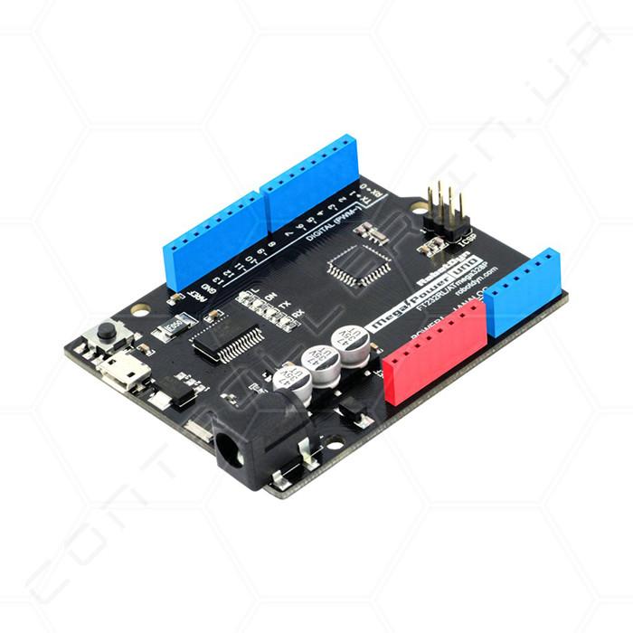 Микроконтроллер Arduino UNO R3 MegaPower RobotDyn