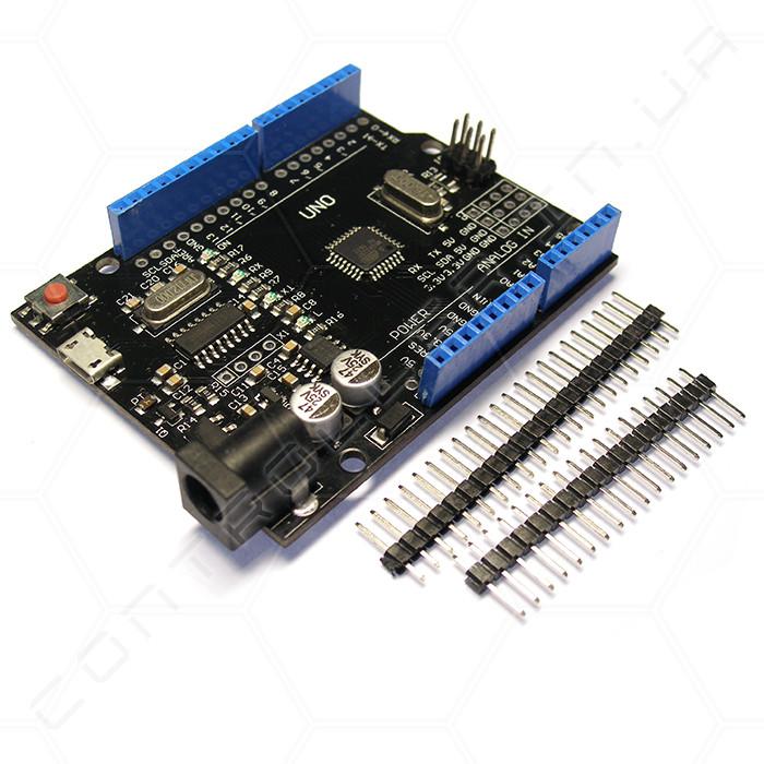 Микроконтроллер Arduino UNO R3 microUSB