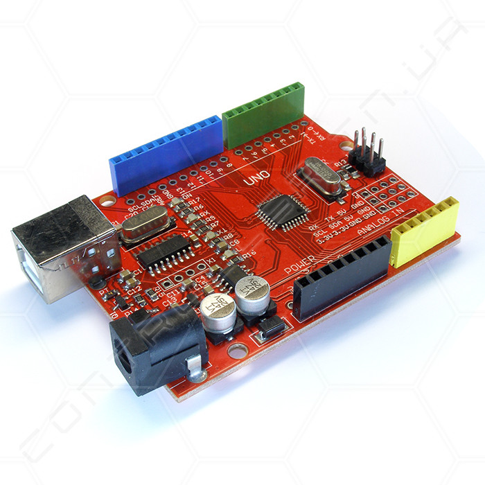 Микроконтроллер Arduino UNO R3 Red