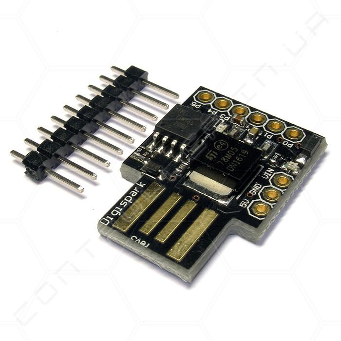 Микроконтроллер Attiny85 встроенный USB Digispark