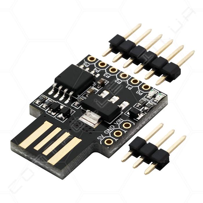 Микроконтроллер Attiny85 Встроенный USB RobotDyn