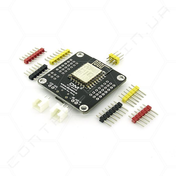 Модуль ESP-12E ESP8266 MCU CH340C Wi-Fi Strong