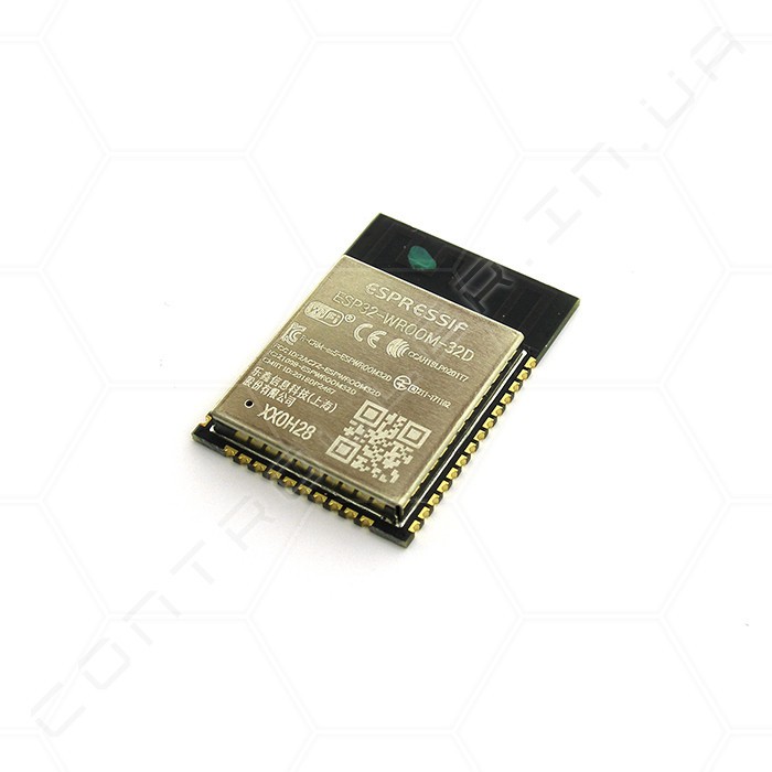 Модуль ESP32-WROOM-32D 16Мб Wi-Fi Bluetooth