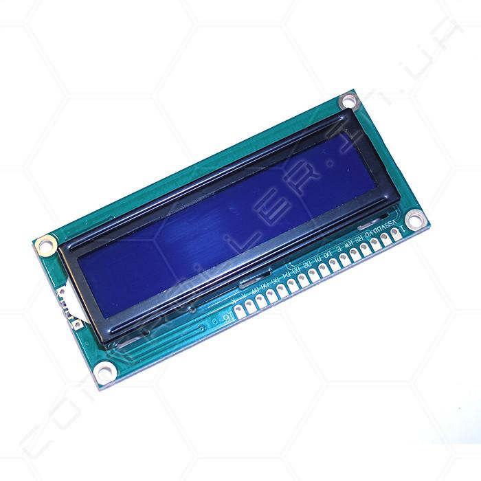 Модуль LCD символьний дисплей 1602A синя підсвітка