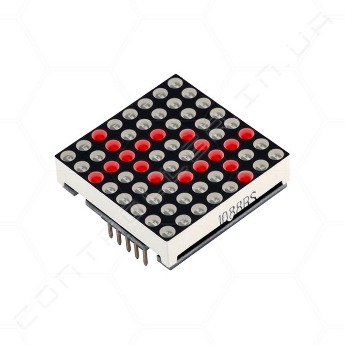 Модуль MAX7219 RobotDyn светодиодная матрица 8х8 красная