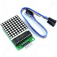 Модуль MAX7219 светодиодная матрица 8х8
