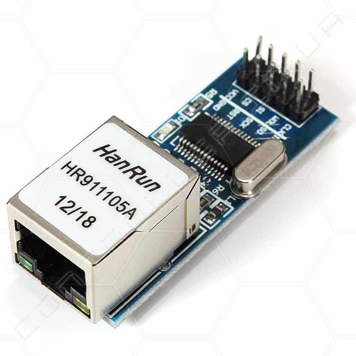 Модуль mini Ethernet ENC28J60