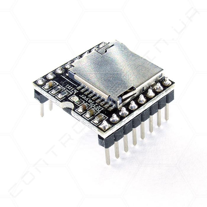 Модуль MP3 звуковой DFPlayer Mini microSD