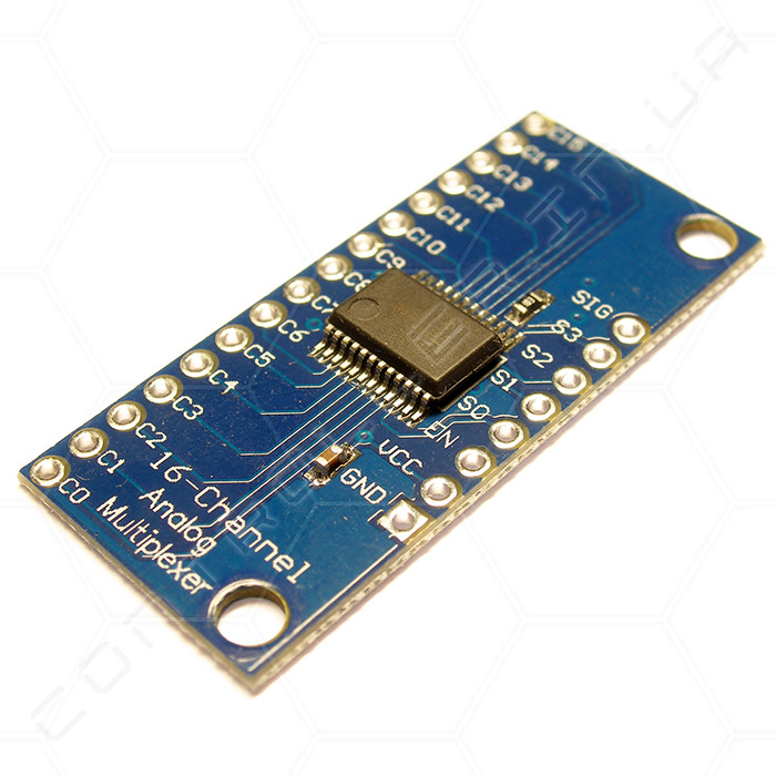 Модуль аналоговый мультиплексор CD74HC4067 (16 канальный)
