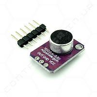 Модуль датчика звуку мікрофонний GY-MAX4466