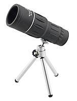 Монокуляр BUSHNELL 16x52 з подвійною фокусуванням + чохол і тринога, фото 1