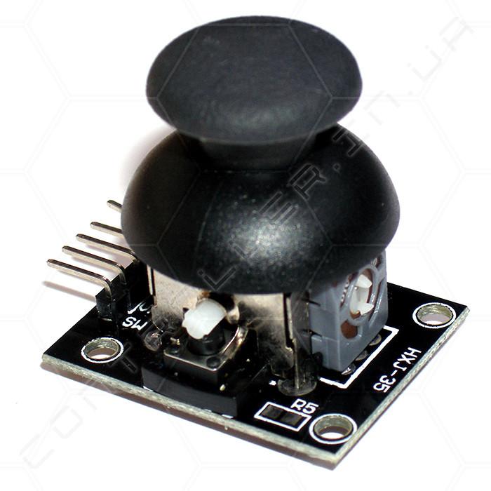 Модуль двох осьової джойстик з кнопкою