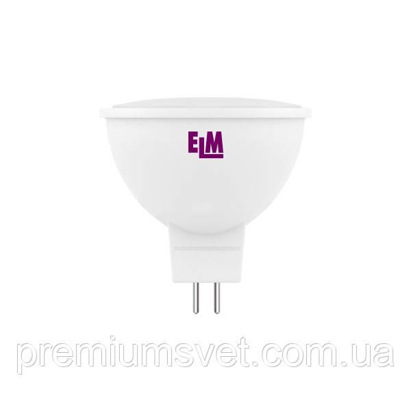 Лампа ELM Led 3W MR16 PA10 GU5.3 4000 120 гр (18-0044)