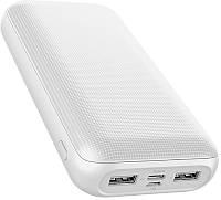 Портативная батарея GOLF Power Bank 20000 mAh G54 Li-pol White 77754, КОД: 1356552