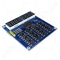 Модуль клавиатуры QYF-TM1638 с семисегментными индикаторами
